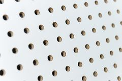 White soundproof wall Stock Images