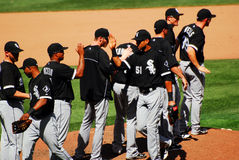 White Sox wygrana Obrazy Royalty Free