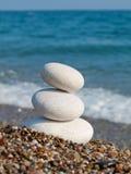 White Spa stones. Stock Image