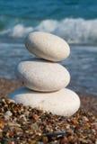 White Spa stones. Stock Photos