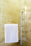 White spa towel Royalty Free Stock Photography