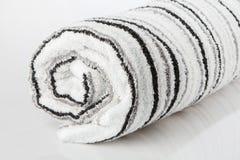 White spa towel Stock Image