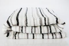 White spa towel Royalty Free Stock Image