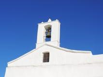 White, spanish church Stock Image