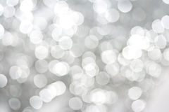 White sparkles abstract background Stock Photo