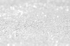 White Sparkling and bokeh background. White Sparkling and bokeh absract background royalty free stock photography