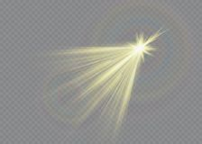 White sparks glitter special light effect. Vector sparkles on transparent background. Christmas abstract pattern. White sparks glitter special light effect Royalty Free Stock Photos