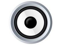 White speaker Stock Image