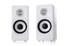 Free White Speakers Royalty Free Stock Photo - 1755235