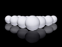 White Sphere Royalty Free Stock Photos