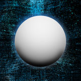 White sphere background Stock Image