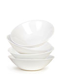 White Sphere Dish plate Float and Overlay Royalty Free Stock Photos