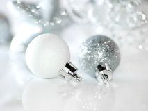 White spheres Royalty Free Stock Photography