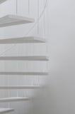 White spiral stair Stock Photo