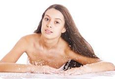 White splash Stock Photography