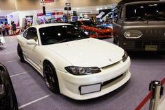 White sport car Royalty Free Stock Photo