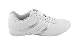 White sport shoes Stock Images