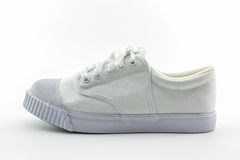 White sport shoes. Stock Photo