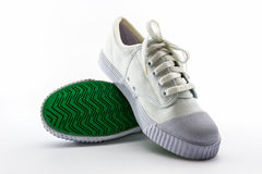 White sport shoes. Stock Photo