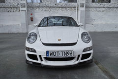 White sports car, Porsche 911 GT3 Royalty Free Stock Photo
