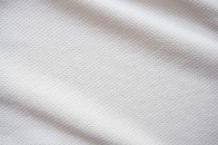 Sports jersey fabric texture background. White sports jersey fabric texture background Stock Photo