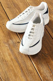 White sports shoes Stock Photo