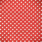 White Spot on Red Fabric Texture Royalty Free Stock Photo