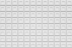 White square box  modern technology black abstract 3d  backgroun. D Royalty Free Stock Image