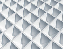 White square cellular surface Stock Photography
