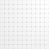 White square grid backdrop Stock Images