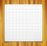 White  square grid with shadow isolated on Royalty Free Stock Photo