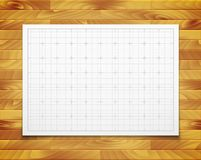 White  square grid with shadow isolated on Stock Photos