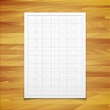 White  square grid with shadow isolated on Stock Images