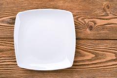 Free White Square Plate Royalty Free Stock Photos - 79183868