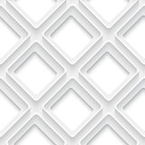 White square with rim abstract Stock Photography
