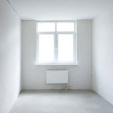 White square room with window Royalty Free Stock Photos