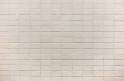 White square tile wall background texture Stock Photography