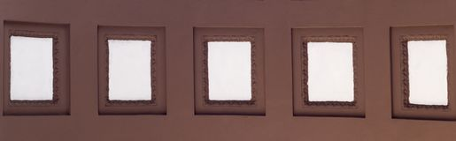 White squared arch background. architecture. White squared arch background. architecture, pattern Stock Photo