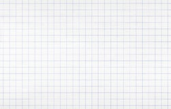 White squared paper seamless background texture Royalty Free Stock Images