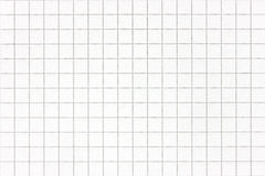 White squared paper sheet Royalty Free Stock Photography