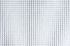 White squared paper sheet texture Royalty Free Stock Photos