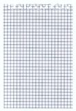 White squared paper sheet texture, background Royalty Free Stock Images