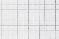 White squared paper Royalty Free Stock Photos