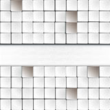 White squares Stock Photos