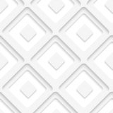 White squares and sell layered Stock Image