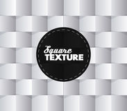 White squares vector abstract background Royalty Free Stock Photography
