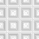 White squares on white tile ornament Royalty Free Stock Photos