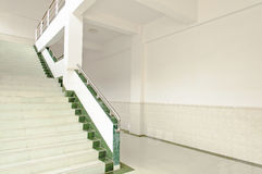 White  stair Stock Images