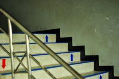 White stair royalty free stock photos