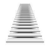 White staircase Royalty Free Stock Photo